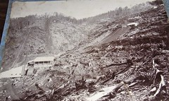 Early photo of the Magnet Mine in Tasmania - circa 1900 (Aussie~mobs) Tags: aussiemobs vintage tasmania magnetmine mining australia silvermine silver lead zinc