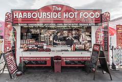 The Harbourside Hot Food Bar! (I'mDKB) Tags: 1835mm 1835mmf3545g 2018 august nikond600 northyorkshire scarborough imdkb harbourside hotfood shop fastfood lightroom5 lr5 burger cheeseburger hotdogs chips baconbuttie sausagebuttie