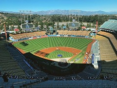 Dodger Stadium. I think this classic stadium is the coolest in the world. @mlbonfox #nlcs (S Leo Video) Tags: sleovideo dodger stadium i think this classic is coolest world mlbonfox nlcs