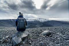 On top of Hverfjall Volcano (polychromatisch) Tags: iceland sony alpha 7r3 7riii ilce7rm3 24105mm f4 f40 hverfjall volcano fe 1635 1635mm sel1635z sel1635