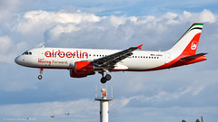 Airbus A320-214 I D-ABDU I Eurowings (Gustavo H. Braga) Tags: airberlin aviation airplanes airport aviação aviacao aviao aeronaves aeroporto airbus airbusa320 avgeek sky clouds a320 lisbon portugal