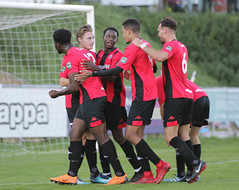 Lewes 2 Folkestone Invicta 0 20 10 2018-277-2.jpg (jamesboyes) Tags: lewes folkestoneinvicta football soccer fussball calcio voetbal amateur bostik isthmian goal score celebrate tackle pitch canon 70d dslr