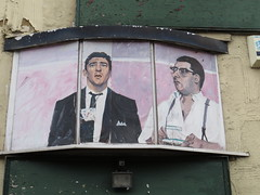 Graffiti on derelict buildings near Southend Seafront (Ian Press Photography) Tags: graffiti derelict buildings near southend seafront streetart street art essex sea krays kray twins reggie ronnie
