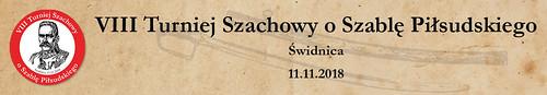 VIII Turniej Szachowy o Szablę Piłsudskiego Baner
