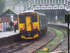 150232 Bodmin Parkway (2) (Marky7890) Tags: gwr 150232 class150 sprinter 2p92 bodminparkway railway cornwall cornishmainline train