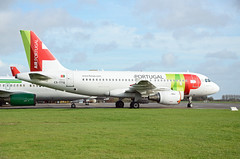 TAP A319 CS-TTQ, Kemble (Bristol Airport Spotter) Tags: kemble cotswold airfield airport asi air salvage international airliner airplane jet glos gloucestershire cirencester nikon d7000