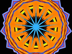 Phenomenal (Kombizz) Tags: c434 kombizz kaleidoscope experimentalart experimentalphotoart photoart epa samsung samsunggalaxy fx abstract pattern art artwork blue orange black yellow red green phenomenal dazzling