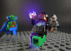 Ultraviolet Lantern (-Metarix-) Tags: lego super hero minifig justice league dc comics comic synder john stewart green lantern corps ultraviolet sinestro