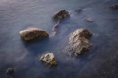Rock Formations (panos_adgr) Tags: nikon d7200 long exposure rocks stones sea water motion blur drapetsona lipasmata attica greece tripod low light