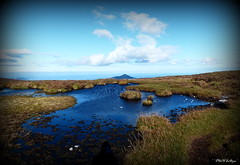 """"""" Blue from the Green of White Hill """" ("""" P@tH Im@ges """") Tags: mountain pond spring ireland sugarloaf whitehill thewicklowway home blue green magic"""