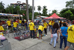Bling bicycles (stevenbrandist) Tags: panama bicycle bmx custom bus