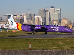 Flybe | Bombardier DHC-8-402Q Dash 8 | G-JEDU (Bradley's Aviation Photography) Tags: lcy eglc londoncityairport londoncity london canon70d flybe bombardierdhc8402q dash8 gjedu