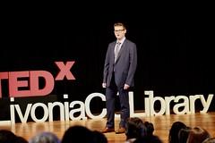 Grant Sobczak (TEDxLivoniaCCLibrary) Tags: tedxlivoniacclibrary tedx livonia shaunroberts 2018