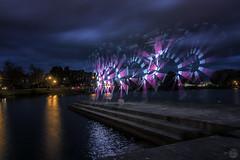 Strobing Light Paint (superdavebrem77) Tags: night lightpaint peterborough