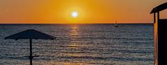 A Lemnos Sunset (Mount Athos in the Background) Limnos - Greece (Olympus OM-D EM1-II & M.Zuiko 40-150mm f2.8 Pro Zoom) (1 of 1) (markdbaynham) Tags: limnos greece lemnos greek greekisland grecia greka mzd mz zd mzuiko zuikolic hellas hellenic northaegean northaegeanisland greekholiday greekaegean aegeanisland olympus omd em1 olympusomd olympusgreece olympusmft mft m43 mirrorless micro43 microfourthird microfourthirds em1ii em1mk2 em1mark2 csc evil micro43rd m43rd travel vacation holiday olympusm43 olympusprolens prozoom beach sunset 1240mm myrinatown
