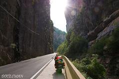 Congosto de Ventamillo (DOCESMAN) Tags: moto bike motorcycle congosto cañon angostura desfiladero contraluz barranco hoces carretera road pirineos pyrenees benasque congostodeventamillo