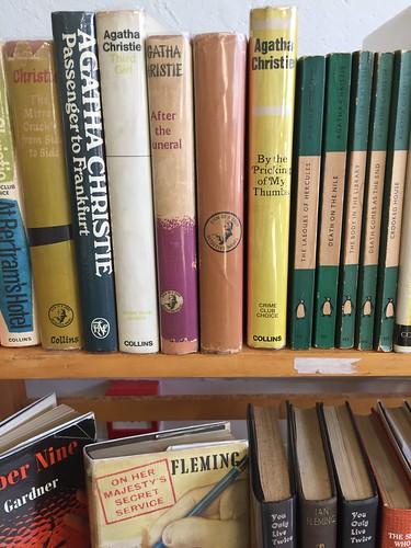 Agatha Christie book fan photo
