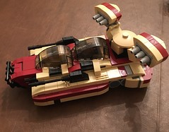 Rebel AAC-1 Speeder Tank (Brendan Helms) Tags: creation custom afol moc lego empire imperial rebels rebel battlefront speeder speedertank tank starwars galacticcivilwar