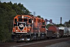 Indiana Harbor Belt (ryanstuart1) Tags: indiana harbor belt railroad railway emd gp402 chicago il freight train trains steel industry ns norfolk southern mainline yard