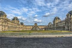 The Louvre   -8186-09-12- (zayaspointofviewphotography1) Tags: nikon france louvre paris museum clouds europe