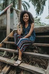 Anica (jibarovlogs) Tags: panama brunet kids young afroamerican african rolls hair black long afro latina girl woman miss