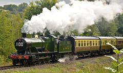 SEVERN VALLEY RAILWAY AUTUMN GALA (chris .p) Tags: nikon d610 steam shropshire england svr autumn 2018 uk severnvalleyrailway gala gwr september highley railway trees