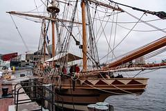 Godspeed_121869 (gpferd) Tags: baltimore boat godspeed harbor landmark nationalaquarium tallship vehicle water maryland unitedstates us