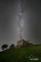 'Blessed church' (macdad1948) Tags: stars astrophotography widefieldastrophotography starscapes night milkyway mars devon brentor church stmichaelderupe lydford
