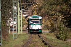 Tatra T3R.PLF No. 23 (rengawfalo) Tags: t3rplf t3 liberec tschechien tram tramway tatra strasenbahn train railroad bahn tranvia tramvaj ckd elektricka öpnv tramwaj sporvogn road car city building urbanrail publictransport tree