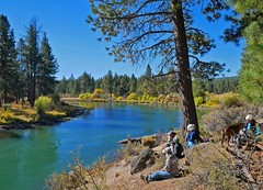 be1100940CONClunchPrt1 (thom52) Tags: thom central oregon bendor river conc deschutes hiking fall color foliage kayak kayaking