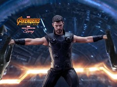 A3Thor_005 (siuping1018) Tags: hottoys marvel disney avengers actionfigures photography onesixthscale siuping infinitywar thor canon 5dmarkii 50mm