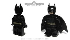 Night Crusader - Available NOW! (Phoenix Custom Bricks) Tags: lego brick custom minifigure night crusader superhero superheroes dark