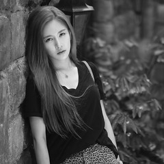 Portrait of MUSKY HAN (JOON JO) Tags: 머스키 musky kpop kpopfans dancemusic pop han 걸그룹 edm street fashion style magazine flickr portrait streetfashion autumnfashion monochrome blackandwhite paradise fashionphotography model beauty singer musician vanahill vietnam