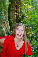IMG_9357 (fab spotter) Tags: younggirl portrait forest levitation brenizer extérieur lumièrenaturelle