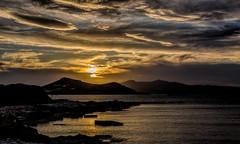 5440TS The Golden Hour (foxxyg2) Tags: sun sunset gold clouds sky aegean blue greece naxos cyclades greekislands islandhopping islandlife