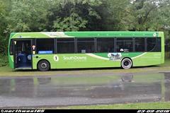 27844 (northwest85) Tags: stagecoach worthing gx13 aog 27844 alexander dennis adl enviro 300 amberley bus gx13aog
