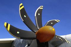 Courbes // Curves (erichudson78) Tags: france midipyrénées blagnac avion airplane engine moteur canonef24105mmf4lisusm canoneos6d courbes curves airbusa400m hélice ciel sky smileonsaturday copyrightbymankind propeller