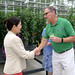 Brookside Gardens Greenhouse Opening and Ribbon Cutting