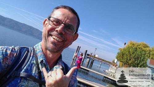 Selfie am Bodensee bei Sipplingen