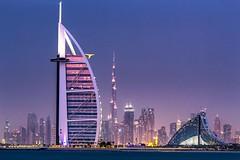 Dubai, simply amazing! (galibarnaut) Tags: dubai architecture city skyline modernarchitecture architectural luxury uae yourshotphotographer flickr photography cityphotography nightphotography burjkhalifa burjalarab hotel worldclass follow bestshots