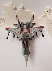 Strike Fighter (lego.fav) Tags: lego fighter bricks mocs brickcentral toyphoto toyslego photography legophoto aircraft