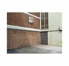 open window (chrisinplymouth) Tags: wall brick corner courtyard socialhousing housingestate devonport plymouth devon england uk city cw69x wb xg