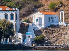 Small Chapel - Church (Agia Parakevi) Romeikos Gialos Waterfront (Myrina Town - Limnos) (Olympus OM-D EM1-II & M.Zuiko 40-150mm f2.8 Pro Zoom with MC14 Teleconverter) (1 of 1) (markdbaynham) Tags: greece grecia greka gr greek island greekisland greeceaegean greektown myrina myrinatown northaegean northaegeanisland olympus olympusomd omd olympusgreece olympusem1 olympusprolens em1 em1ii em1mk2 csc mirrorless evil m43 microfourthird microfourthirds m43rd 40150mm f28 prolens telephoto zoomlens mft micro43 micro43rd limnos lemnos olympusmft em1mark2