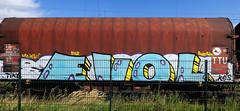 graffiti on freights (wojofoto) Tags: amsterdam nederland netherland holland graffiti streetart freighttraingraffiti freighttrain freights fr8 vrachttrein cargotrain wojofoto wolfgangjosten evol