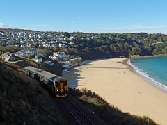 150265 Carrack Gladden, Carbis Bay (Marky7890) Tags: gwr 150263 class150 sprinter 2a20 carbisbay railway cornwall stivesbayline train