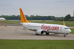 TC-IZD Boeing B737-83N Pegasus Airlines Stansted 02nd June 2018 (michael_hibbins) Tags: tcizd boeing b73783n pegasus airlines stansted 02nd june 2018 tc turkey turkish b737 aircraft aeroplane aviation aerospace airplane aero airport airports airliner civil commercial passanger passenger