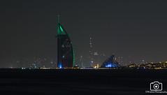 Burj al arab (sidrog28) Tags: burj hotel dubai middle east night 7 star palm