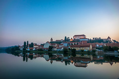 Our visit to Slovenia was far too brief, yet beautiful.  This amazing morning sunrise in Ptuj was so peaceful.