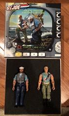 Gi Joe Pacific Theater - Chuckles & Shipwreck ( collectors club, 2007) (skott00) Tags: toy actionfigure 375 118 cobra gijoe
