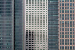 Canary Wharf (Gary Kinsman) Tags: canon28135mm canon5d 2011 urban urbanlandscape topographics newtopographics architecture lightermansroad e14 telephoto zoom compression docklands millwall london eastlondon eastend tower highrise skyscraper canarywharf onecanadasquare 25bankstreet 40bankstreet steel glass repetitive bland mundane